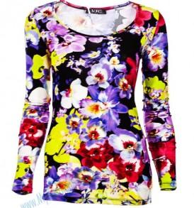 Дамска блуза Versace- Floral от MyFashionstore.eu