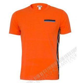 Мъжка тениска BiKKEMBERGS-Orange- MyFashionstore.eu