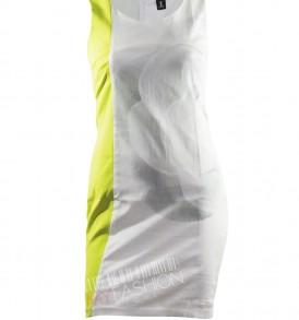 Елегантна бяла рокля ONE от MyFashionstore.eu