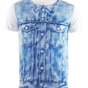 Tениска МOSCHINO- blue jacket- MyFashionstore.eu