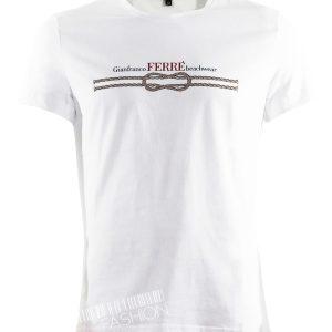 Tениска FERRE-white от Myfashionstore.eu