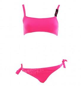 Бански комплект от три части - blue&pink -MyFashionstore.eu