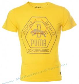 Мъжка тениска Puma (Rudolf Dassler)-Yellow от Myfashionstore.eu