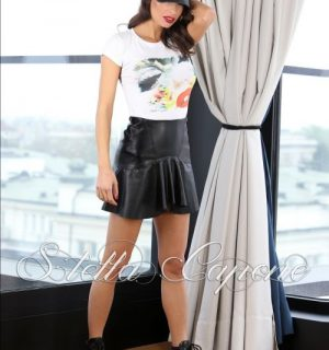 Къса кожена пола от Stella Capone от MyFashionstore.eu