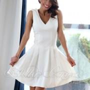 Кукленска рокля от Stella Capone-White от MyFashionstore.eu