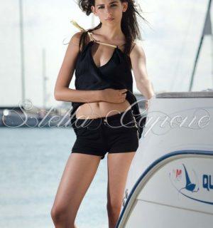 """Къси панталонки """"Black&Gold"""" от MyFashionstore.eu"""