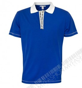 Мъжка тениска Just Cavalli-Blue от MyFashionstore.eu