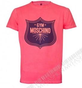 Мъжка тениска MOSHINO-pink от MyFashionstore.eu