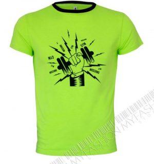 Мъжка тениска MOSHINO-Green от MyFashionstore.eu