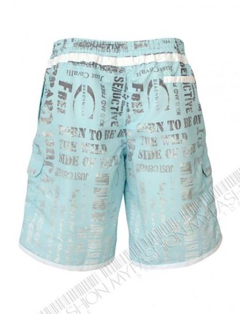 Beachwear шорти Just Cavalli Blue&White от MyFashionstore.eu