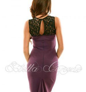 """Елегантна рокля Stella Capone"""" WINE от MyFashionstore.eu"""