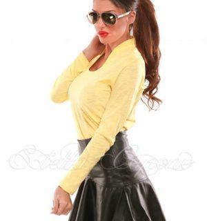 Жълта блузка от Stella Capone от MyFashionstore.eu