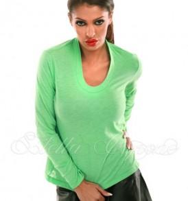 Нежна зелена блузка от Stella Capone-от MyFashionstore.eu