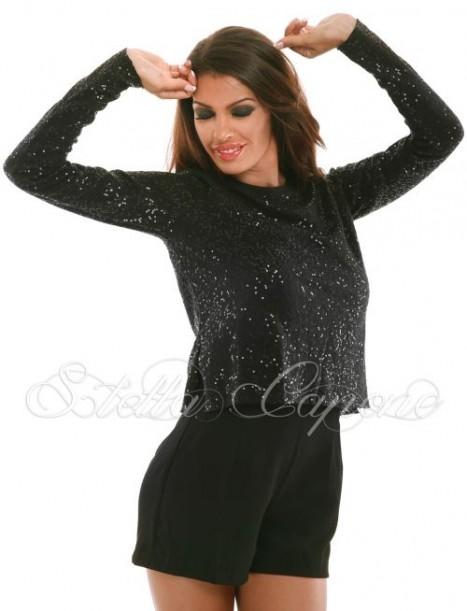 """Блуза Stella Capone """"Brilliant Black"""" от MyFashionstore.eu"""