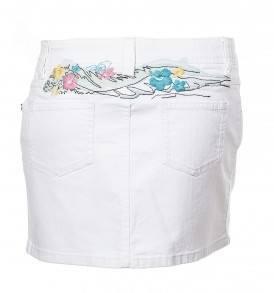 Къса бяла пола ROXY - MyFashionstore.eu