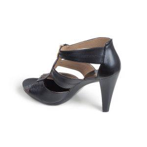 Кожени сандали с висок ток MICHAEL KORS- MyFashionstore.eu