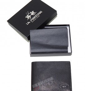 Мъжки портфейл La Martina- black от Myfashionstore.eu
