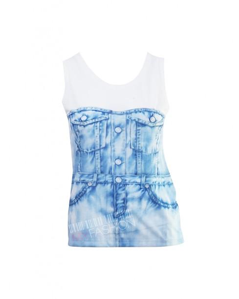 Дамска тениска MOSCHINO - jeans - MyFashionstore.eu