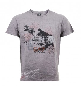 Мъжка тениска EA7 - grey - MyFashionstore.eu