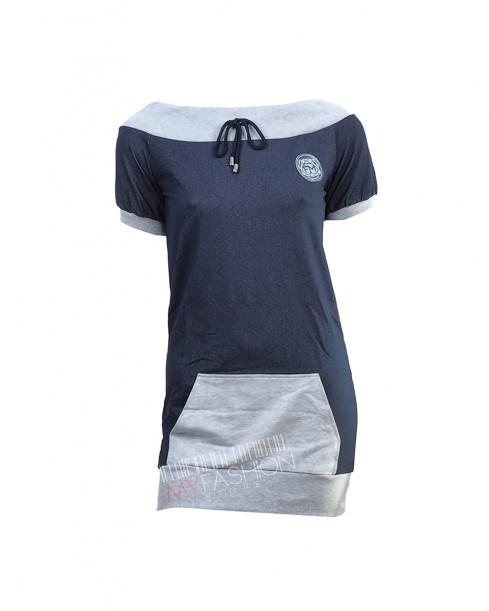 Sweatshirt Frankie Morello Sexywear- grey - MyFashionstore.eu