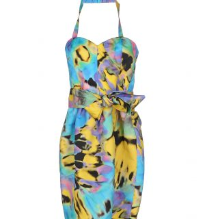 Цветна рокля LOVE MOSCHINO 34565976LR - MyFashionstore.eu
