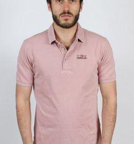 N0YCFIP56 Тениска Napapijri POLO PURPLE