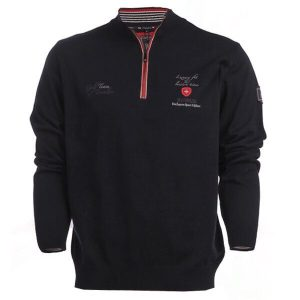 Мъжки спортен пуловер SWISIZE- blue- MyFashionstore.eu