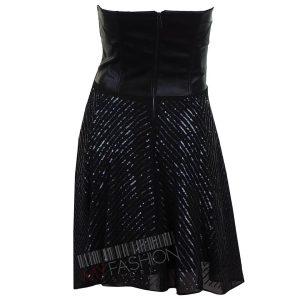 Черна вечерна рокля Pinko- myfashionstore.eu