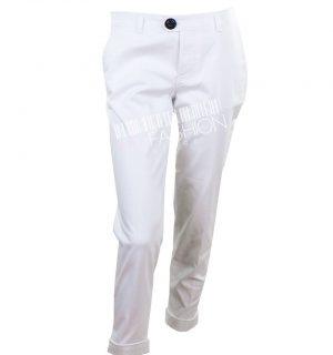 Бял дамски панталон Dsquared2 - myfashionstore.eu