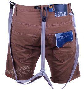 Къси панталони с тиранти G-star- myfashionstore.eu
