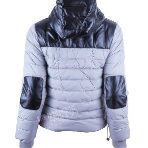 Късо сиво яке Silvian Heach - myfashionstore.eu