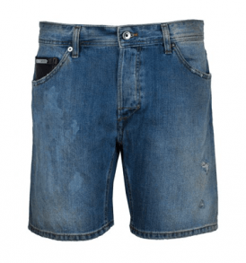 Дънкови къси панталони JUST CAVALLI - myfashionstore.eu
