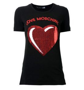 Тениска Moschino W4F600 BLK - myfashionstore.eu