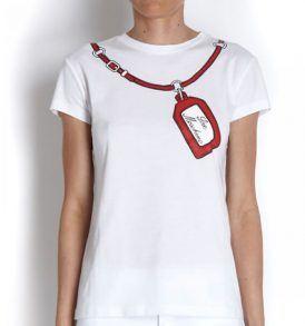 Тениска Moschino W4F780 - myfashionstore.eu