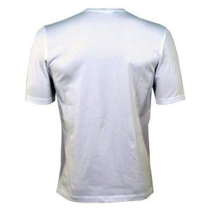 Тениска Love Moschino 8 Tениска на световната марка MOSCHINO Кръгло деколте Къс ръкав Цвят бял със принт ципове Лого Арт. номер: M471505Е1514