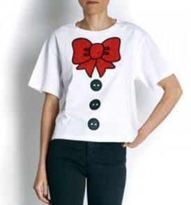 Тениска Moschino W4F740 - myfashionstore.eu