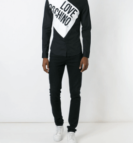 Мъжка риза Love Moschino 4 - myfashionstore.eu