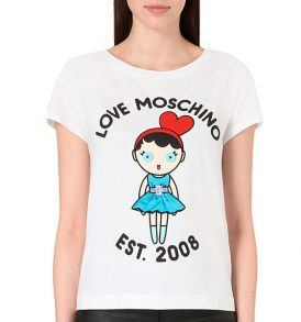 Тениска Moschino W4F301 1E1698