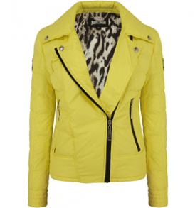 Жълто яке JUST CAVALLI S02AM0090 - myfashionstore.eu