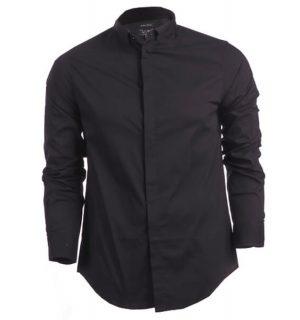 Черна Риза Armani JEANS - myfashionstore.eu