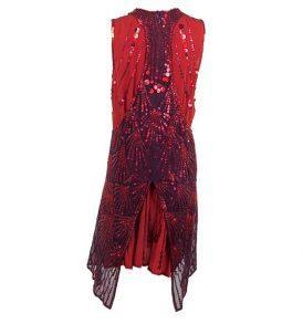 Коктейлна рокля с пайети JUST CAVALLI - myfashionstore.eu