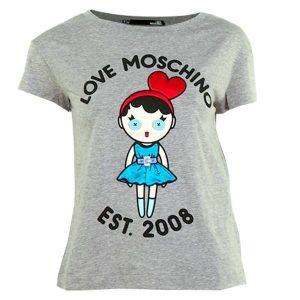 Тениска Moschino W4F301 1E1698 grey- myfashionstore.eu