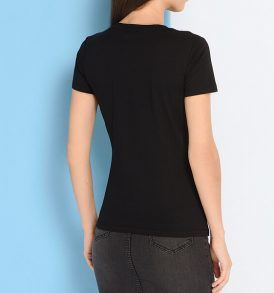 Тениска Trussardi- Blk - myfashionstore.eu