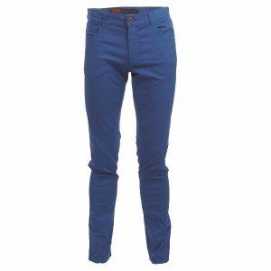 Син панталон Trussardi - myfashionstore.eu
