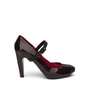 Обувки UNITED NUDE Lo Res Pump Burgundy - myfashionstore.eu