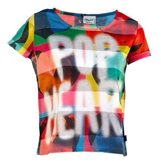 Блузка с принт Blugirl 2 - ,MyFashionstore.eu