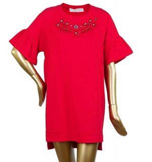 Червена рокля Elisabetta Franchi - ,MyFashionstore.eu