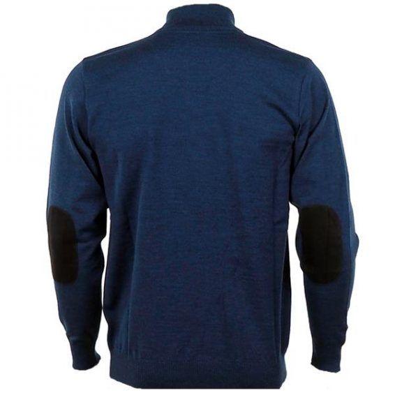 Мъжки спортен пуловер SWISIZE- blue 2