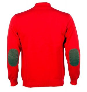 Мъжки спортен пуловер SWISIZE- red - MyFashionstore.eu