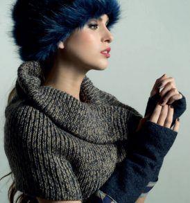 Дамска зимна яка Kontessa - MyFashionstore.eu